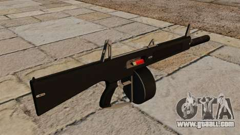 The AA-12 shotgun with a silencer for GTA 4 second screenshot