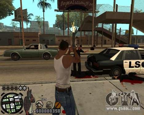 C-HUD Ghetto for GTA San Andreas second screenshot