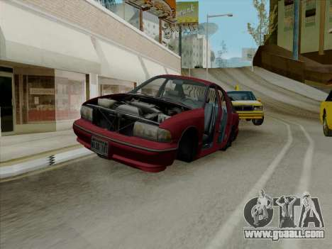 Chevrolet Caprice 1991 for GTA San Andreas interior
