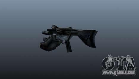 Pulse rifle AR2 Alliance for GTA 4 second screenshot