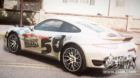 Porsche 911 Turbo 2014 for GTA 4 inner view