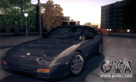 Nissan 240SX 1991 Tunnable for GTA San Andreas back left view