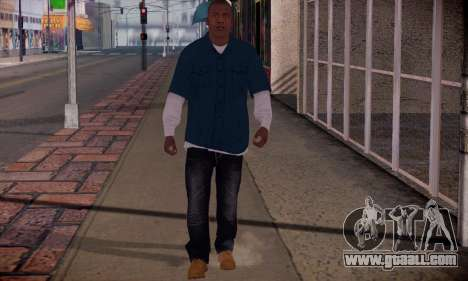 Franklin for GTA San Andreas forth screenshot