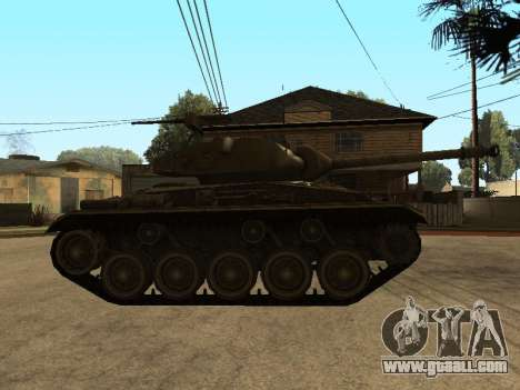 M24-Chaffee for GTA San Andreas back left view