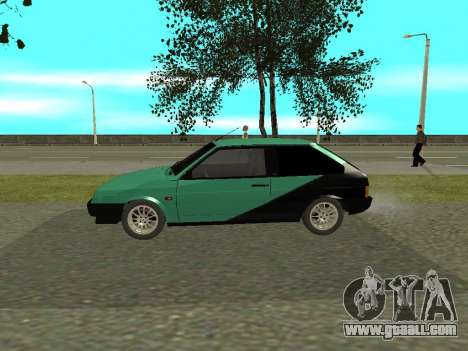 VAZ 2108 for GTA San Andreas back left view