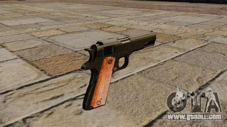 Gun Colt M1911 Black Edition for GTA 4 second screenshot