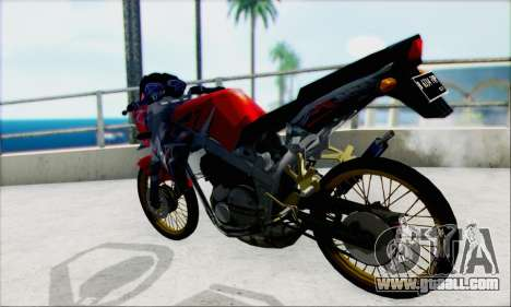 Kawasaki 150L Ninja Series for GTA San Andreas left view