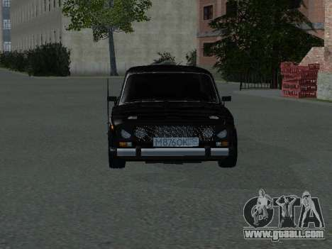 VAZ 2106 for GTA San Andreas back left view