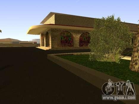 Railway station Las Venturas v1.0 for GTA San Andreas third screenshot