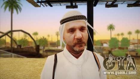 Arab Sheikh for GTA San Andreas third screenshot