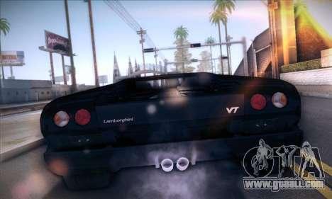 Lamborghini Diablo VT6.0 for GTA San Andreas back left view