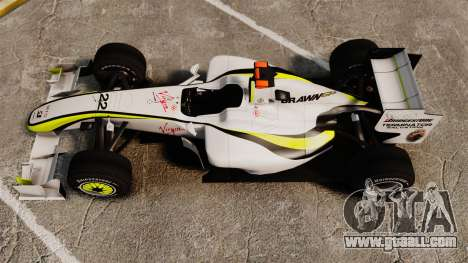 Brawn BGP 001 2009 for GTA 4 right view