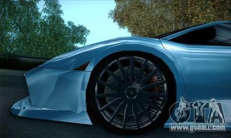 Lamborghini Murcielago GT Coloured for GTA San Andreas interior