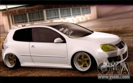 Volkswagen Golf MK5 Lowstance for GTA San Andreas