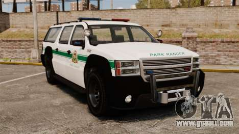 GTA V Declasse Granger Park Ranger for GTA 4