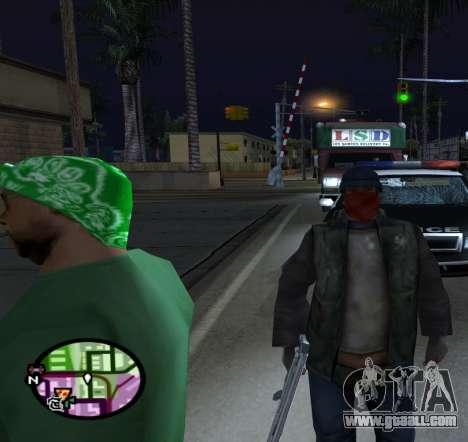 Bums for GTA San Andreas third screenshot
