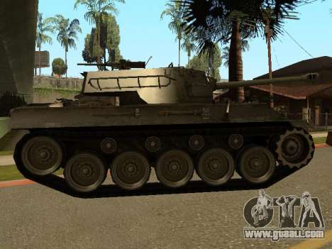 M18-Hellcat for GTA San Andreas back left view
