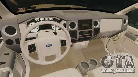 Ford F-350 Pitbull for GTA 4 inner view