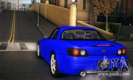 Honda S2000 for GTA San Andreas side view