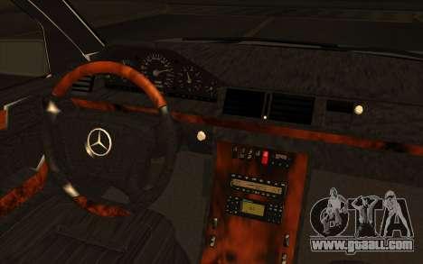 Mercedes-Benz E420 v2.0 for GTA San Andreas back view