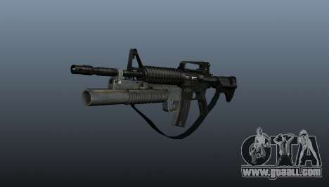 Automatic carbine M4A1 v1 for GTA 4