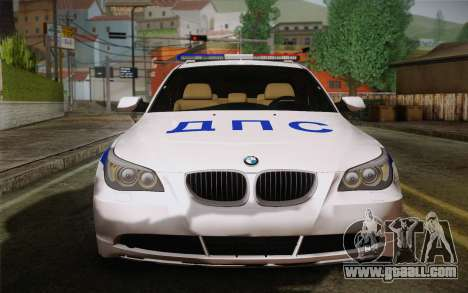 BMW 530xd DPS for GTA San Andreas left view