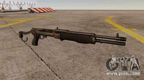 Franchi SPAS-12 shotgun Armageddon for GTA 4