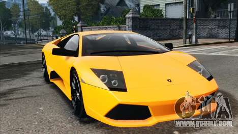 Lamborghini Murcielago LP640 2007 [EPM] for GTA 4 left view