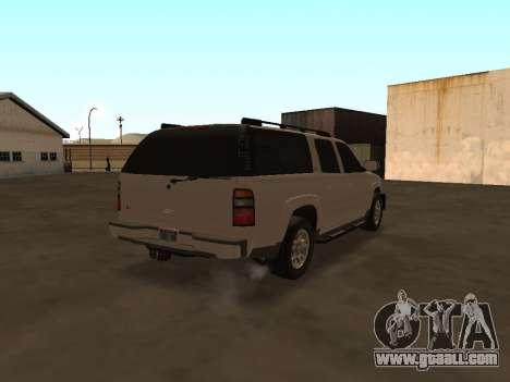 Chevrolet Suburban ATTF for GTA San Andreas right view