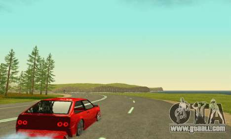 VAZ 2108 Aarr Style for GTA San Andreas back view