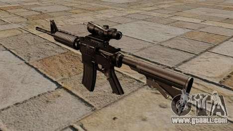 Automatic carbine M4A1 ACOG for GTA 4 second screenshot