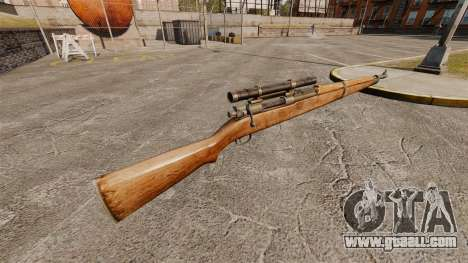 M1903A1 Springfield sniper rifle for GTA 4 second screenshot