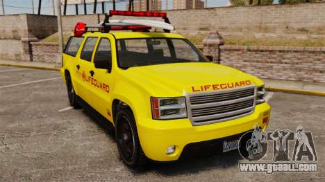 GTA V Declasse Granger 3500LX Lifeguard for GTA 4
