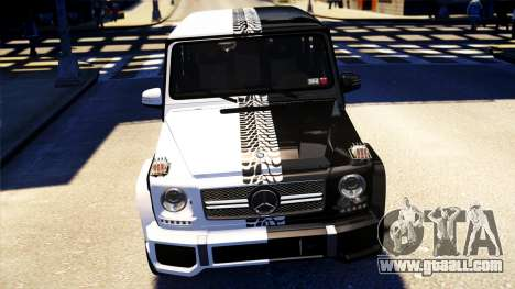 Mercedes-Benz G65 AMG 2013 for GTA 4 right view