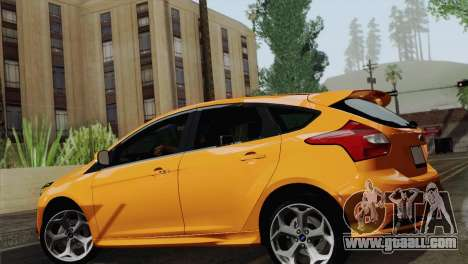 Ford Focus ST 2013 for GTA San Andreas right view