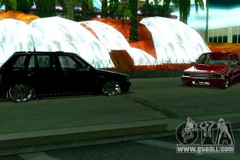 Fiat Uno 2010 Clase 4 for GTA San Andreas left view