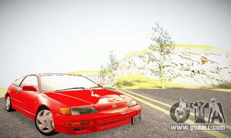 Honda CRX - Stock for GTA San Andreas
