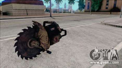 Chainsaw from Silent Hill Home Coming for GTA San Andreas third screenshot