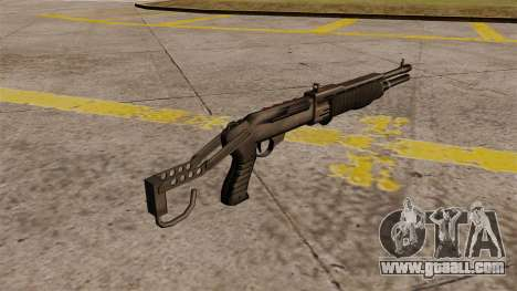 Franchi SPAS-12 shotgun Armageddon for GTA 4 second screenshot