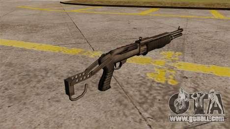 Franchi SPAS-12 shotgun Armageddon for GTA 4 second screenshot
