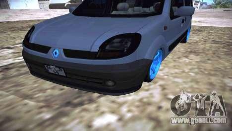 Renault Kangoo 2005 v1.0 TMC for GTA San Andreas right view