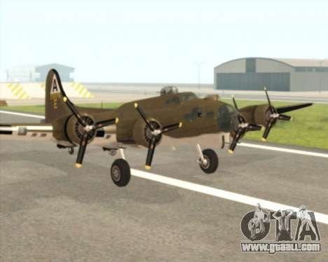 B-17G for GTA San Andreas