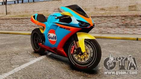 Ducati 848 Gulf for GTA 4