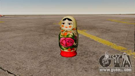 Pomegranate Russian Doll for GTA 4