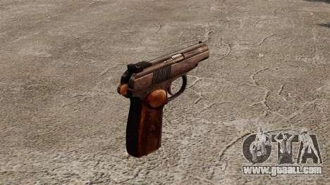 Self-loading pistol Makarova for GTA 4 second screenshot