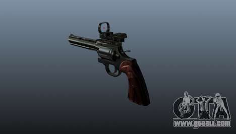 Revolver Colt Python 357 Aimshot for GTA 4 second screenshot