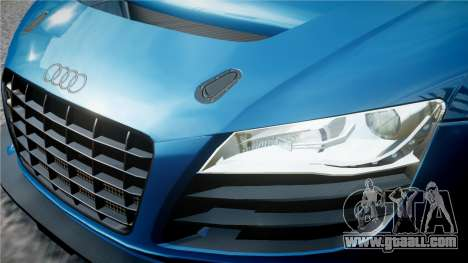 Audi R8 LMS for GTA 4 bottom view