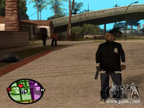 New Bmybar for GTA San Andreas