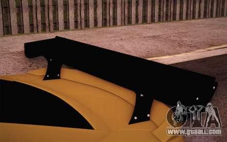 Chevrolet Camaro ZL1 for GTA San Andreas upper view
