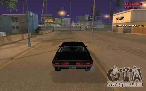 Challenger Missile for GTA San Andreas right view